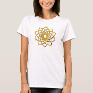 Venus Flower of Love DUO - fineART gold silver T-Shirt
