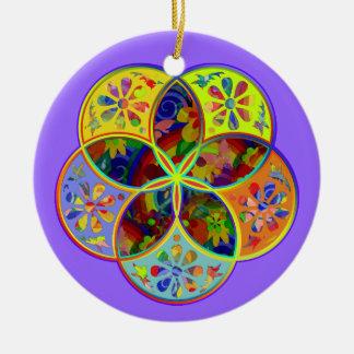 Venus Flower of Love fineART Flower Power Ceramic Ornament