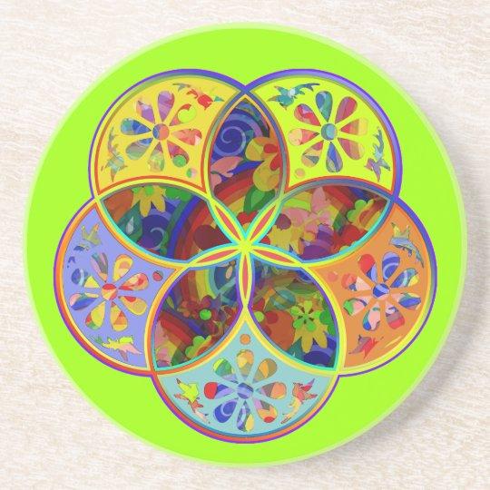 Venus Flower of Love fineART Flower Power Drink Coaster