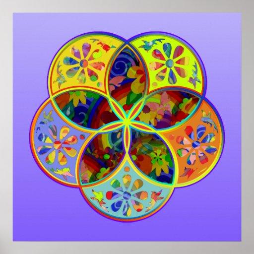 Venus Flower of Love fineART Flower Power Print