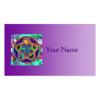 Venus Flower of Love fineART Flower Power / Square Double-Sided Standard Business Cards (Pack Of 100)