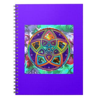 Venus Flower of Love fineART Flower Power / Square Notebook