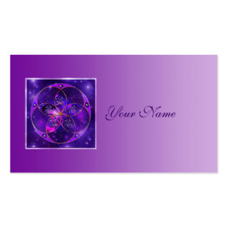 Venus Flower of Love fineART Universe Double-Sided Standard Business Cards (Pack Of 100)