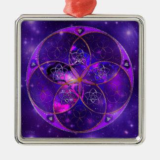 Venus Flower of Love fineART Universe Metal Ornament
