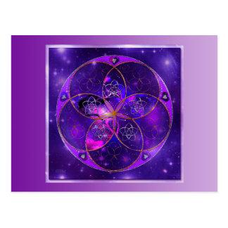 Venus Flower of Love fineART Universe Postcard