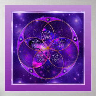 Venus Flower of Love fineART Universe Poster