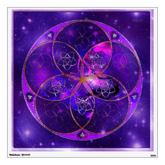 Venus Flower of Love fineART Universe Wall Decal