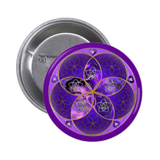 Venus Flower of Love fineART violet pink Pin