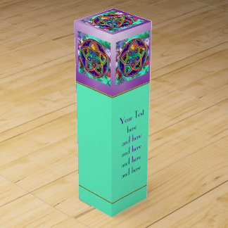 Venus Flower of Love fineART + your text Wine Boxes