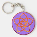 Venus flower/Venus Flower TALK   purple Key Chain