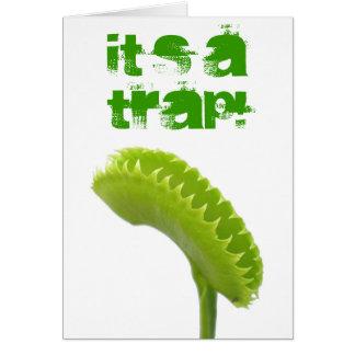 Venus Fly Trap Card