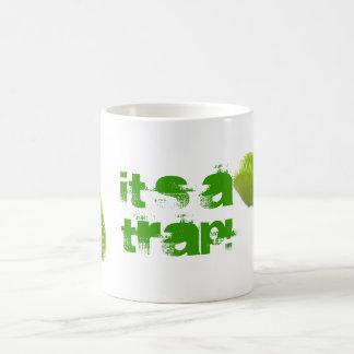 Venus Fly Trap Classic White Coffee Mug