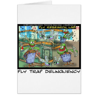Venus Fly Trap Deliquency Funny Rick London Gifts Card