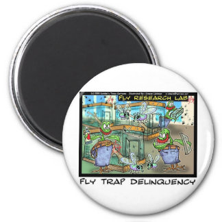 Venus Fly Trap Deliquency Funny Rick London Gifts Magnet