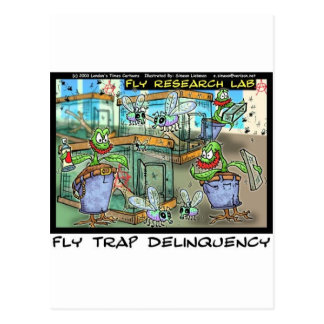 Venus Fly Trap Deliquency Funny Rick London Gifts Postcard