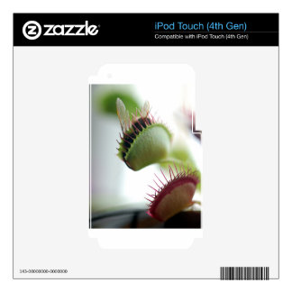 Venus Fly Trap iPod Touch 4G Skins