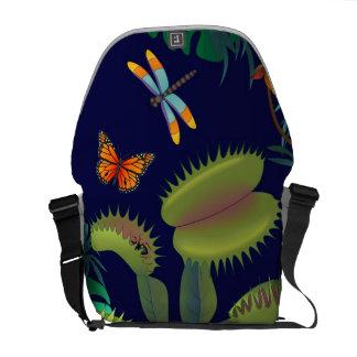 Venus Fly Trap messenger bag