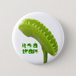 Venus Fly Trap Pinback Button