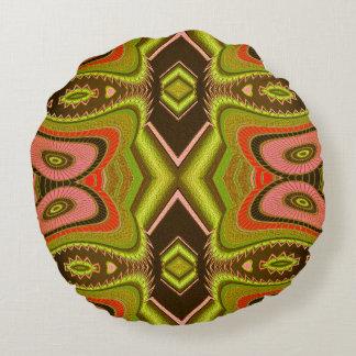 Venus Fly Trap Round Cushion