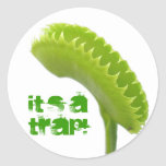 Venus Fly Trap Sticker
