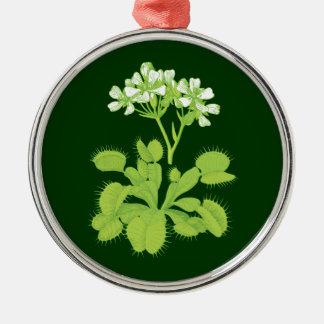Venus Flytrap Botanical Art Ornament
