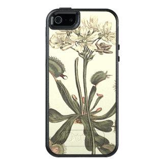 Venus Flytrap Botanical Illustration OtterBox iPhone 5/5s/SE Case