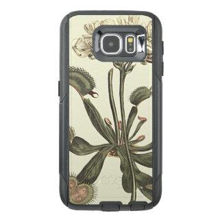 Venus Flytrap Botanical Illustration OtterBox Samsung Galaxy S6 Case