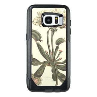 Venus Flytrap Botanical Illustration OtterBox Samsung Galaxy S7 Edge Case