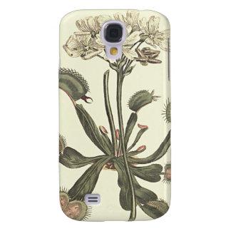 Venus Flytrap Botanical Illustration Samsung Galaxy S4 Case