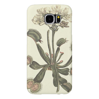 Venus Flytrap Botanical Illustration Samsung Galaxy S6 Case