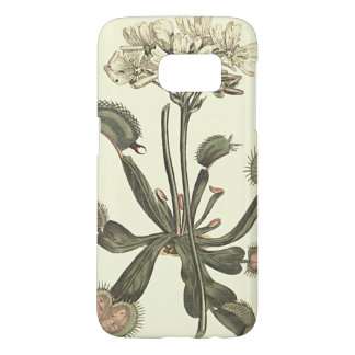 Venus Flytrap Botanical Illustration Samsung Galaxy S7 Case