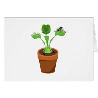 Venus Flytrap Greeting Card
