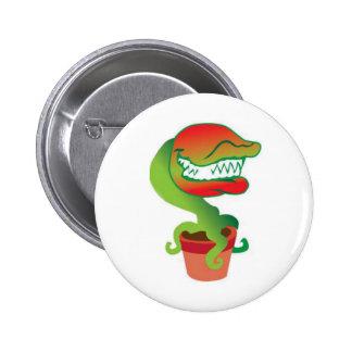 Venus Flytrap Cartoon button