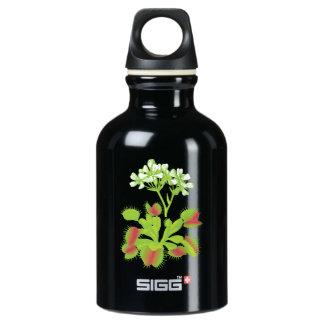 Venus Flytrap Flowers Water Bottle