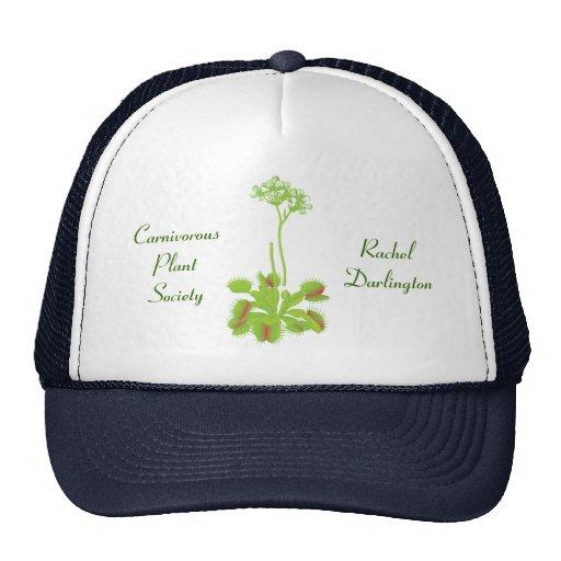 Venus Flytrap Gardening Cap Trucker Hats