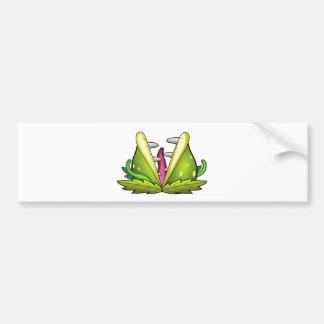 venus flytrap monster bumper sticker