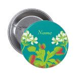Venus Flytrap Name Badge Button