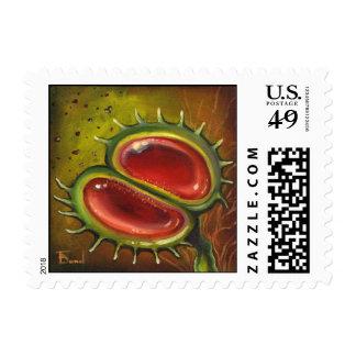 Venus Flytrap Postage Stamp