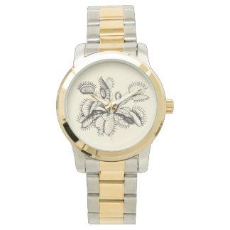 Venus Flytrap Vintage Botanical Watch