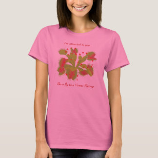 Venus Flytrap with Hearts T-Shirt