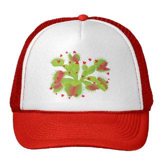 Venus Flytrap with Hearts Trucker Hat