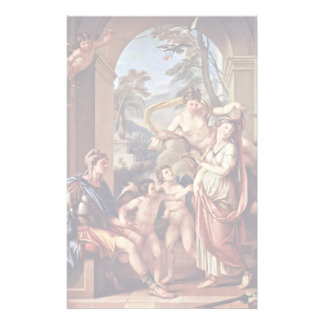 Venus Giving Paris Helen As His Wife Stationery