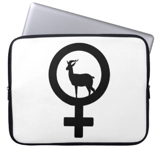 Venus Goa antelope Computer Sleeve