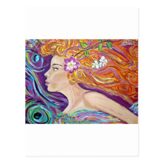 Venus Goddess of Love Post Card