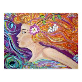 Venus Goddess of Love Postcard