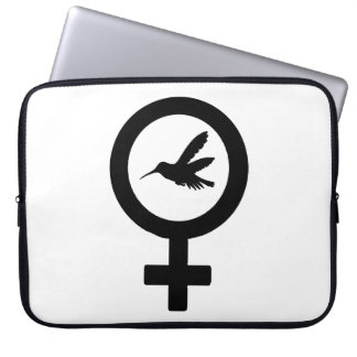 Venus Hummingbird Computer Sleeve