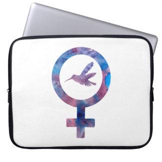 Venus Hummingbird Laptop Sleeve