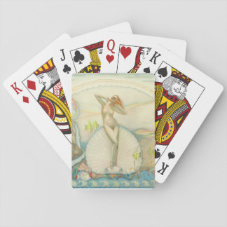 Venus in a Half Shell, 1937 Pin Up Art Playing Cards