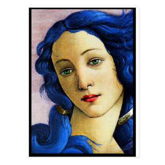 Venus In Blue Postcard