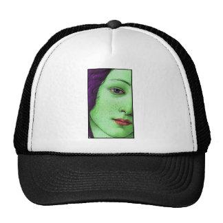 Venus in green hats